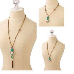 Stella & Dot Jewelry - :: Stella & Dot [V] Totem Tassel Pendant Necklace